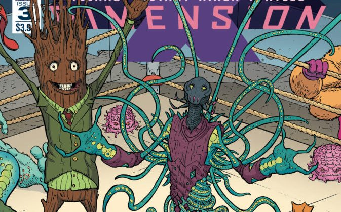 TMNT -Dimension X #3